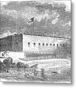 Fort Pulaski, Georgia, 1861 Metal Print
