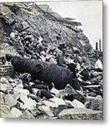 Fort Sumter Civil War Debris - C 1865 Metal Print