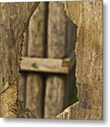 Fort Walls Metal Print