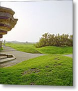 Fortification At Pointe Du Hoc Metal Print