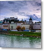 Fortress City Metal Print by Anthony Citro