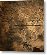 Fossilite Metal Print