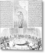 Foucaults Pendulum, 1851 Metal Print