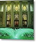 Fountain In Front Of A Government Metal Print