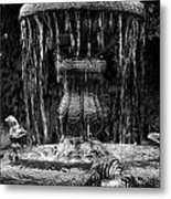 Fountain Metal Print