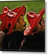 Four Amigos Metal Print