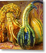 Four Gourds Metal Print