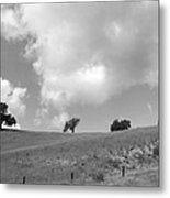 Four On The Hill Metal Print
