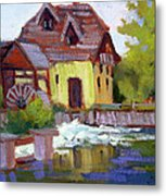Fourge Mill Giverny Metal Print
