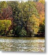 Fowler Lake 4 Metal Print by Franklin Conour