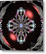 Fractal Illumination Metal Print