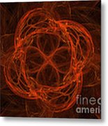 Fractal Image Metal Print