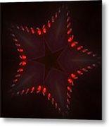 Fractal Star Metal Print