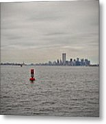 Fragile Red  Metal Print
