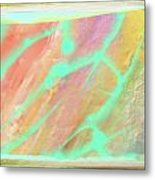 Fragment Of A Sacred Scroll Metal Print