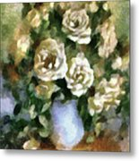 Fragrant Roses Metal Print