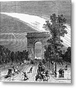 France: Meteor, 1868 Metal Print