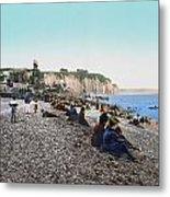 France: Resort, C1895 Metal Print