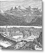 France: Spa, 1856 Metal Print