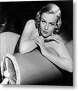 Frances Farmer, Paramount Pictures Metal Print