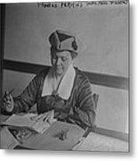 Frances Perkins 1882-1965, U.s Metal Print