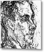 Francis Ponge (1899-1988) Metal Print
