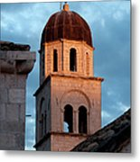 Franciscan Monastery Tower At Sunset Metal Print