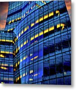 Frank Gehrys Iac Building Metal Print
