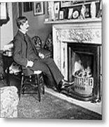 Frank Harris (1854-1931). American Writer Born In Galway, Ireland Metal Print