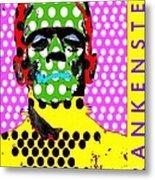Frankenstein Metal Print by Ricky Sencion