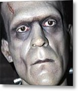 Frankensteins Monster Metal Print