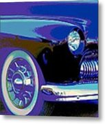 Frankie's Black Beauty Metal Print