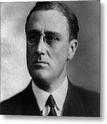 Franklin Delano Roosevelt Metal Print by International  Images