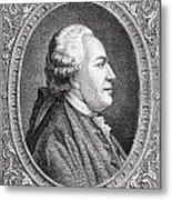 Franz Anton Mesmer, 1734-1815. Viennese Metal Print