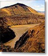 Fraser River Banks Metal Print