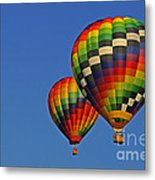 Fraternal Twin Balloons Metal Print