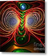 Freak Eyes Metal Print