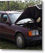 Fred The Car Metal Print