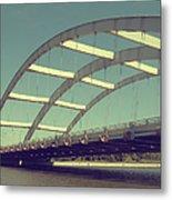 Freddie Sue Bridge Metal Print