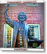 Frederick Douglass Metal Print by Brian Wallace