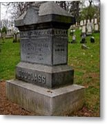 Frederick Douglass Grave Two Metal Print by Joshua House
