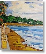 Frederiksted By The Pier Metal Print