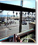 Freds Huntington Beach Metal Print