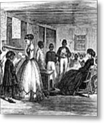 Freedmen School, 1866 Metal Print by Granger