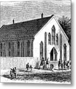 Freedmen School, 1867 Metal Print