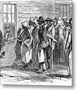 Freedmens Bureau, 1866 Metal Print