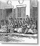 Freedmens School, 1868 Metal Print by Granger