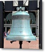 Freedom Bell Metal Print