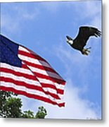 Freedom Feeds The Family Metal Print