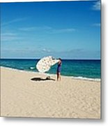 Freedom From Sand Metal Print